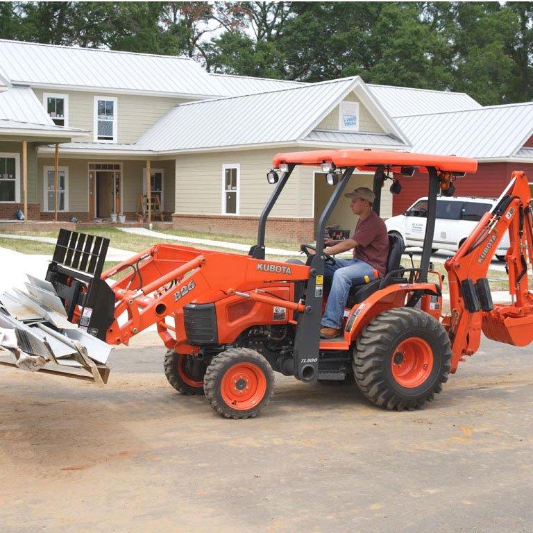 Kubota B Series Tractor Loader Backhoe Picture