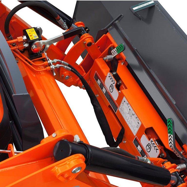 Kubota M Tractor Loader Backhoe Picture
