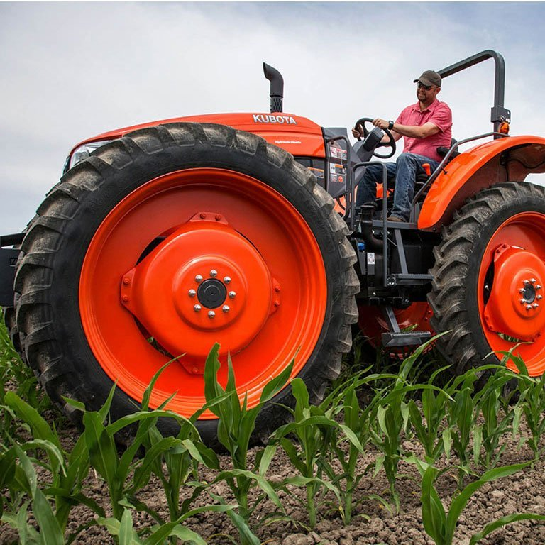 Kubota M6H Series Tractor Picture