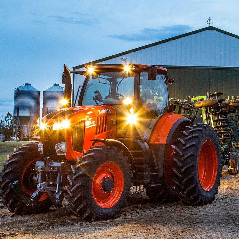 Kubota M7 Series Tractors Picture