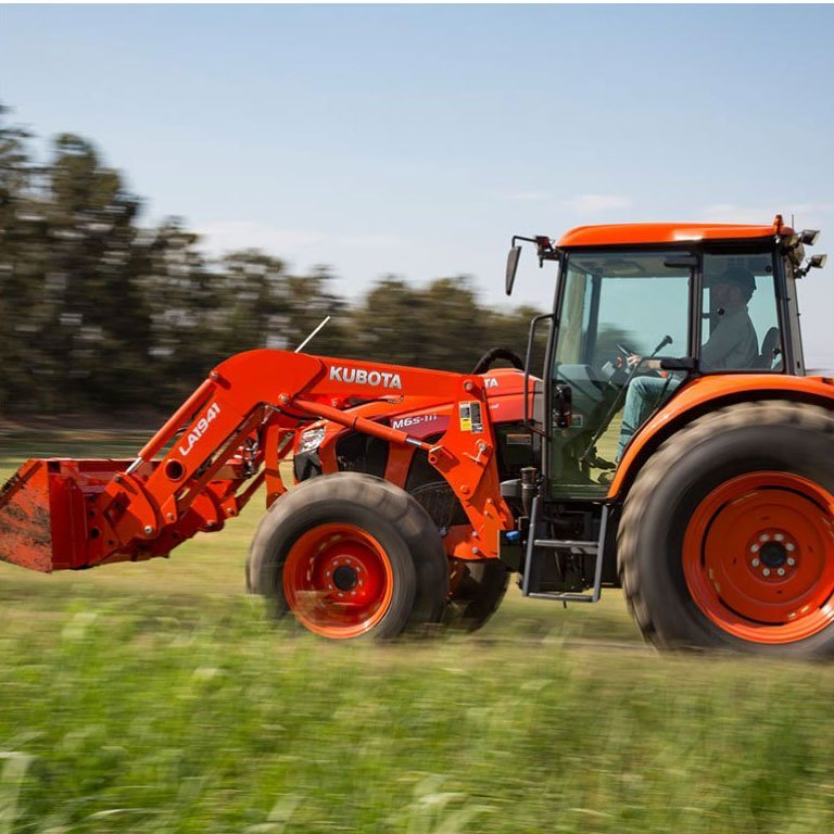 Kubota M6S Series Tractors Picture
