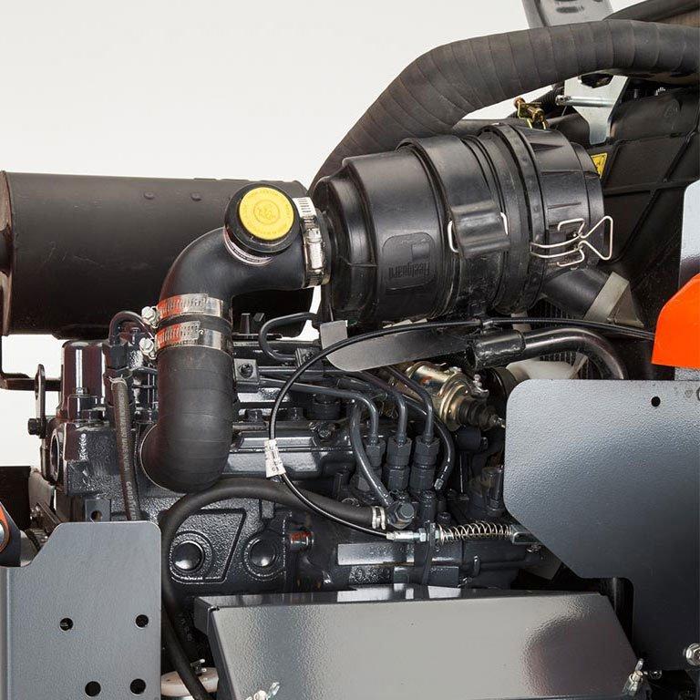 Kubota ZD Series Zero Turn Mowers Picture