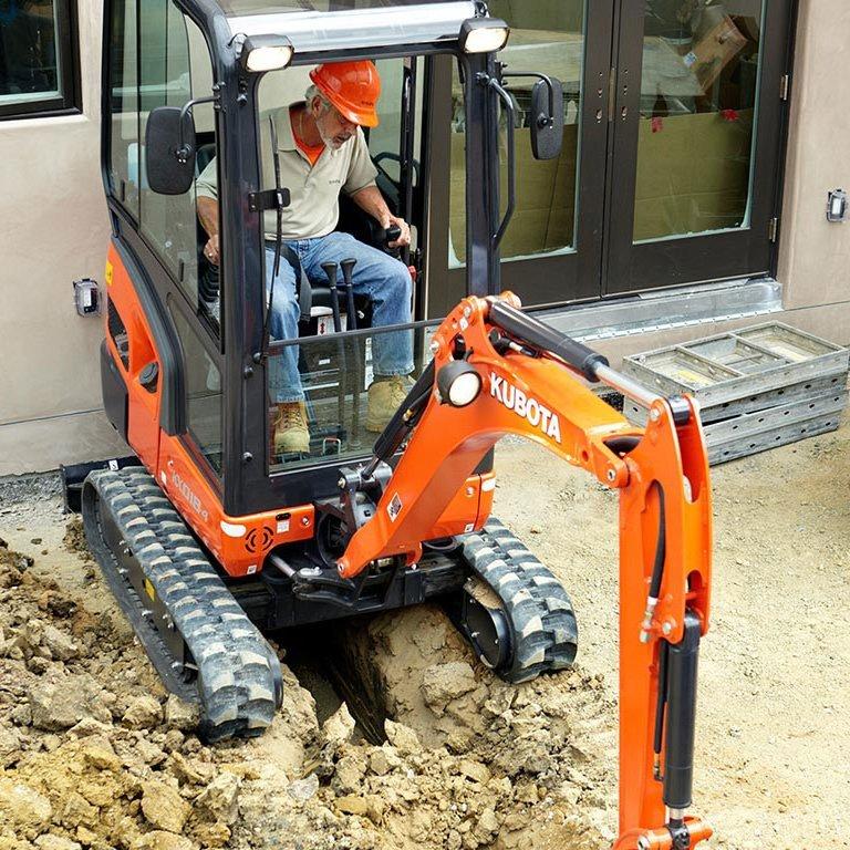 Kubota KX018-4 Series Excavators Picture