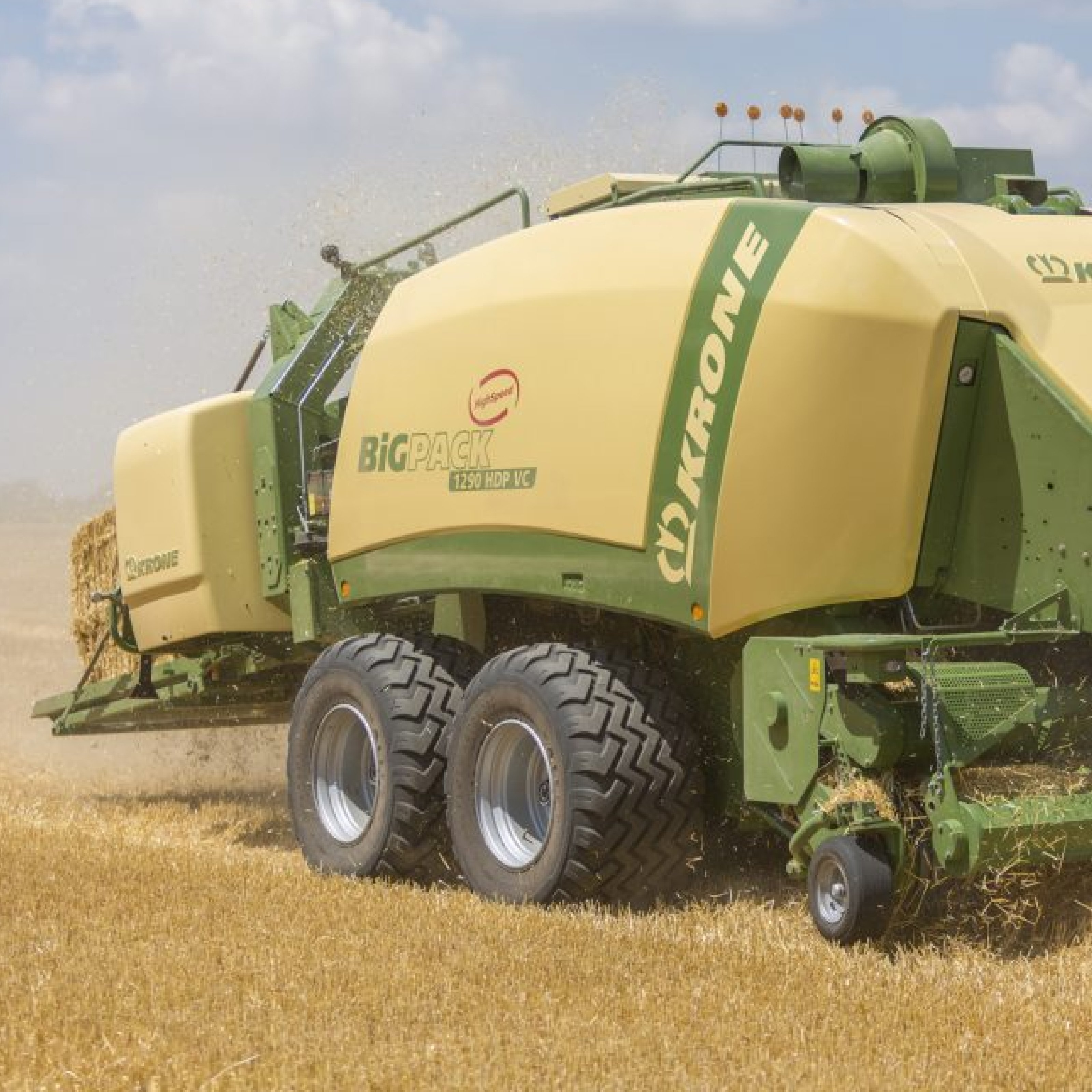 Krone Big Pack Square Balers Picture