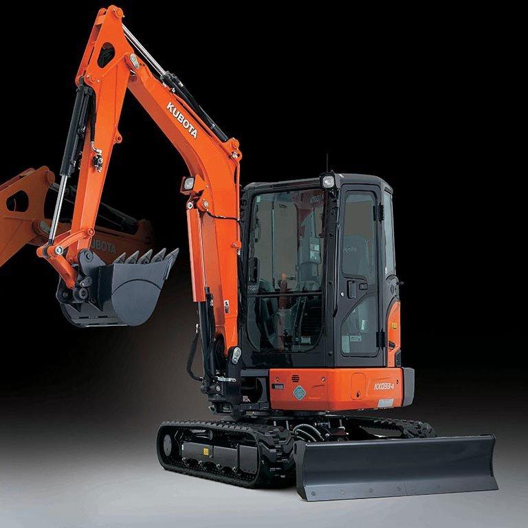 Kubota KX033 Excavator Picture