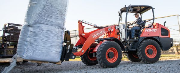 Kubota R40 Series Wheel Loaders Doing Construction in Vancouver and Surrey
