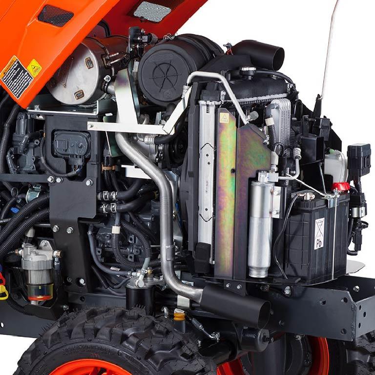 Kubota LX Tractors Picture