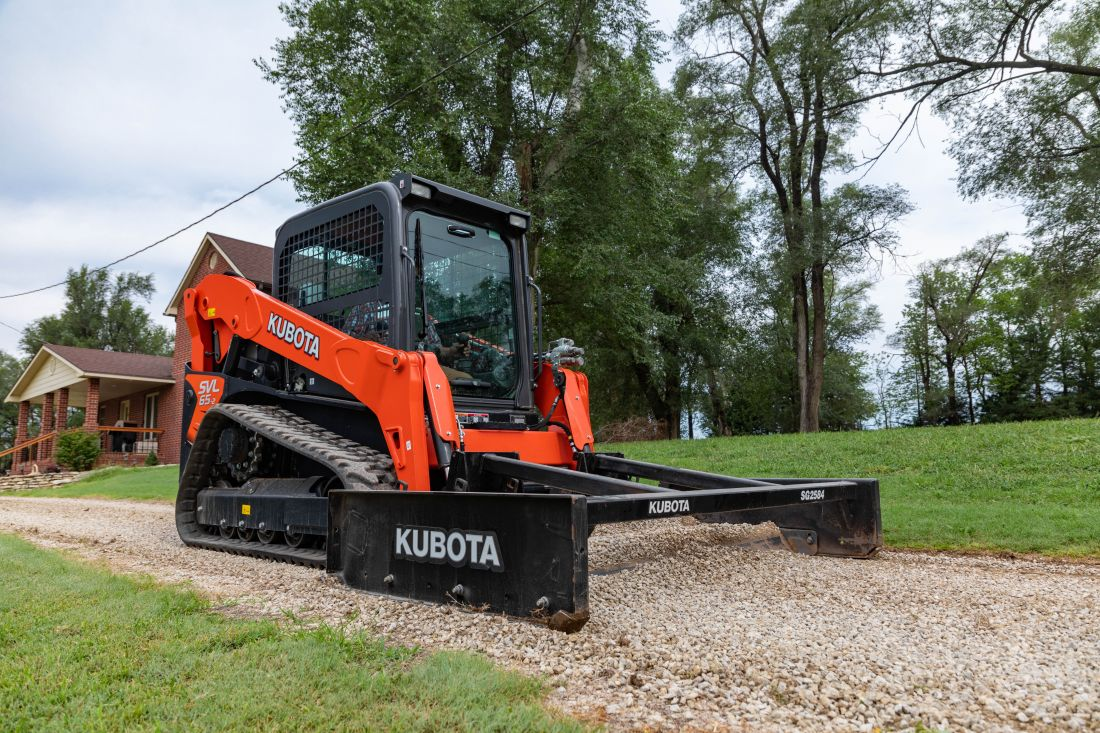 Kubota Graders Picture