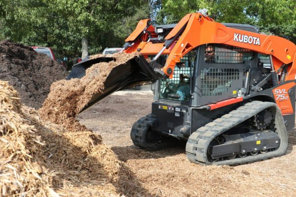 working skid steer