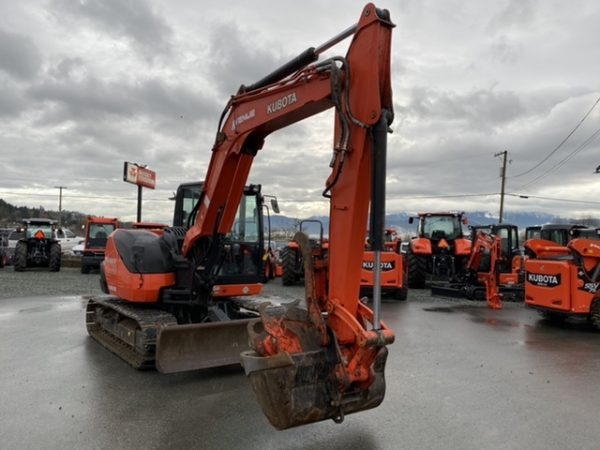 Kubota Excavator Picture