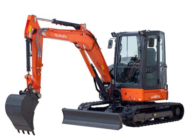 kubota u48 construction excavator bc for sale