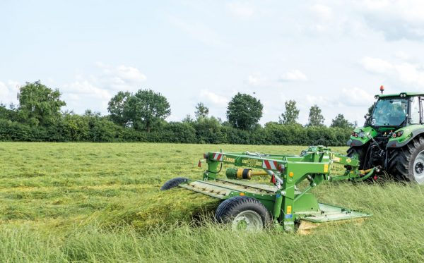 krone pull type mower for sale bc